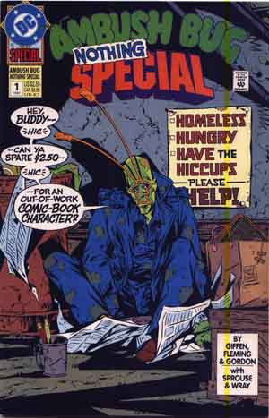 The Ambush Bug Nothing Special #1
