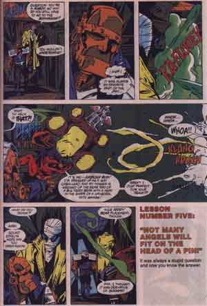 The Doom Patrol in The Ambush Bug Nothing Special #1