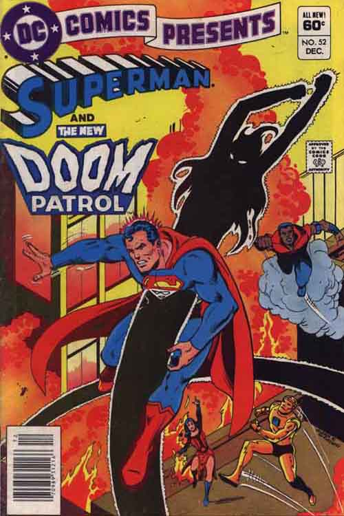 DC Comics Presents featuring Superman and The New Doom Patrol