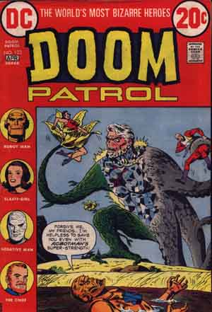 Doom Patrol #123