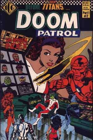 The Official Doom Patrol Index #1