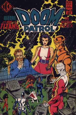 The Official Doom Patrol Index #2