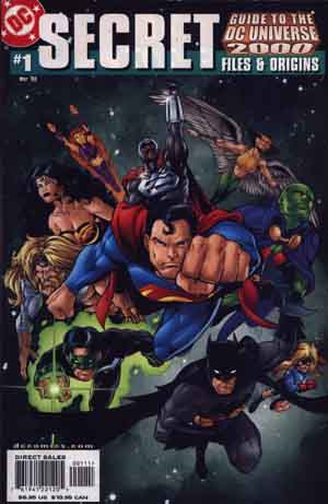 Secret Files & Origins: Guide to the DC Universe #1